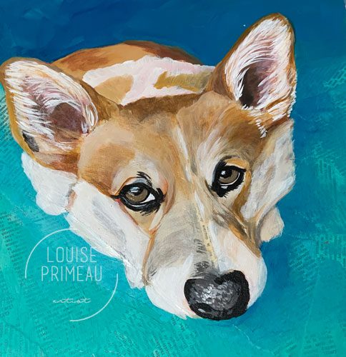 painted Corgi