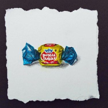 Bubble Gum by Christie Markins, guest artist at Louise's ARTiculations