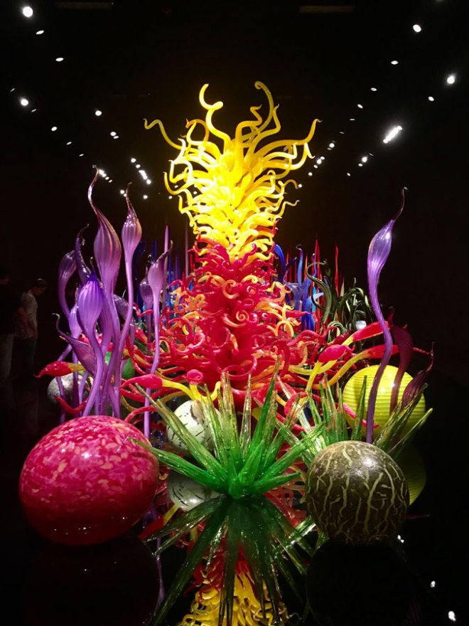 Mille fiori - Chihuly glass sculptures