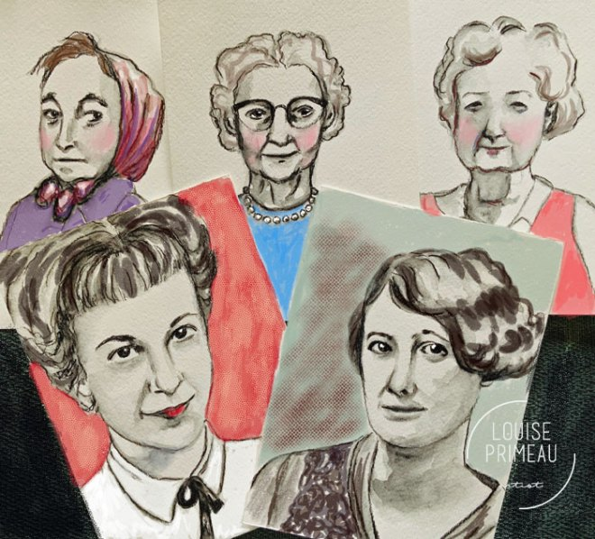 sketches of mothers