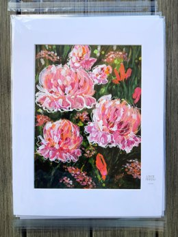 Peony Party by Louise's ARTiculations