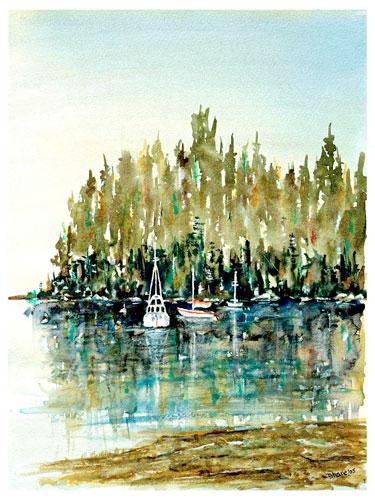 Horseshoe Bay by Len Shane