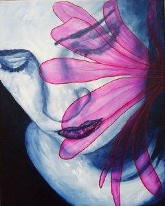 Life's Threads by Saskia van Drunen, guest artist at Louise's ARTiculations