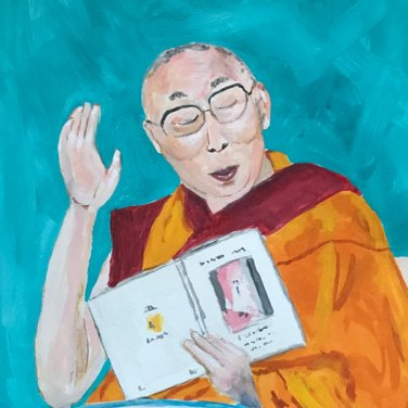 Dalai Lama by Jane Cobb