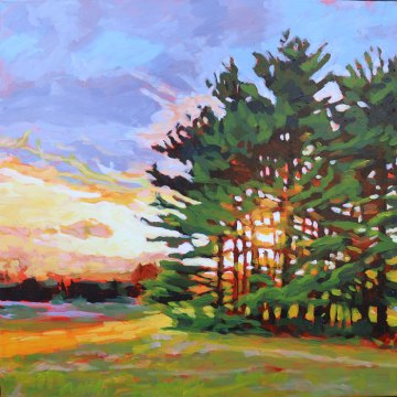 Lailas Pines Redux by Carrie Hensel