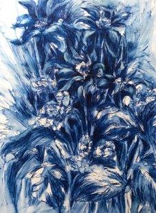 Floral Still Life by Christine Milewska