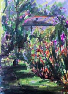 Gladstone Park Gardens by Christine Milewska