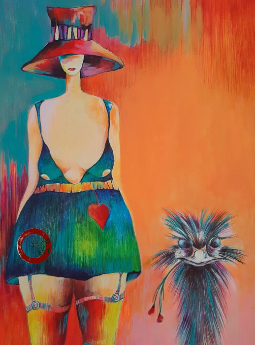 Gwen - Friendship is another word for love by Magda Betkowska