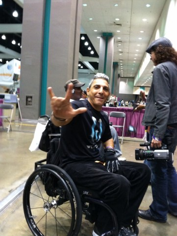 On April 1, 2013 Gabriel Cordell will take his wheelchair and his story of inspiration across America!