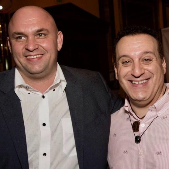 Gene Sheynis and Tommy Geraci