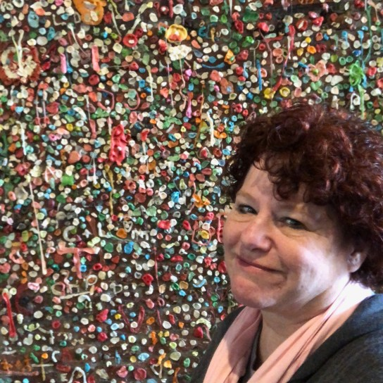 Yes! This is a wall of GUM! Photo: Louise Sattler