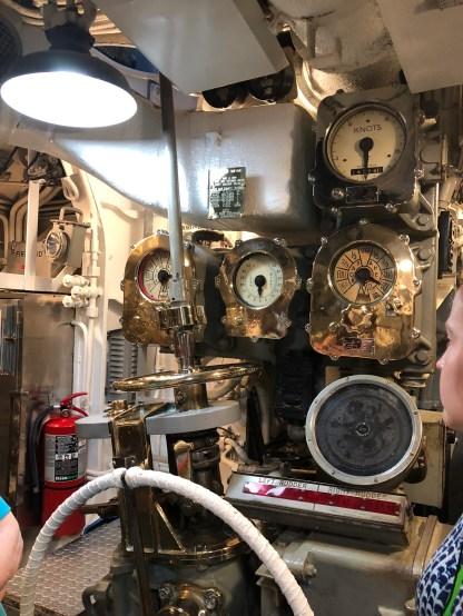 Inside the USS Bowfin