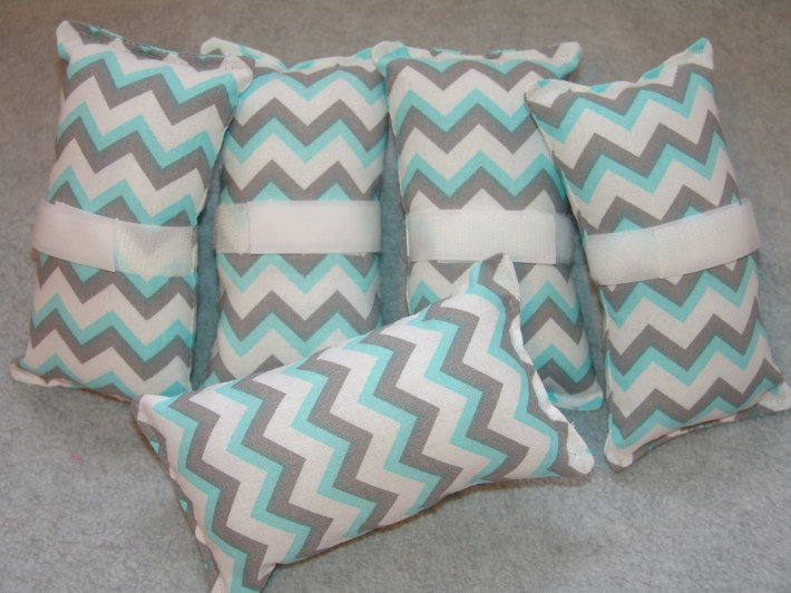 Chevrons teal