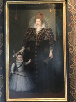 Marie de Médicis avec le futur Louis XIII
