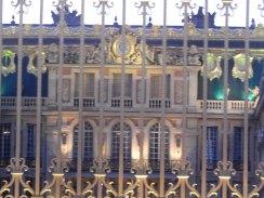 Le front du Château