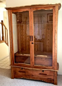 homemade gun cabinets plans | clumsy50krj