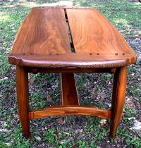 Custom Handmade Craftsman Style Coffee Table In Walnut