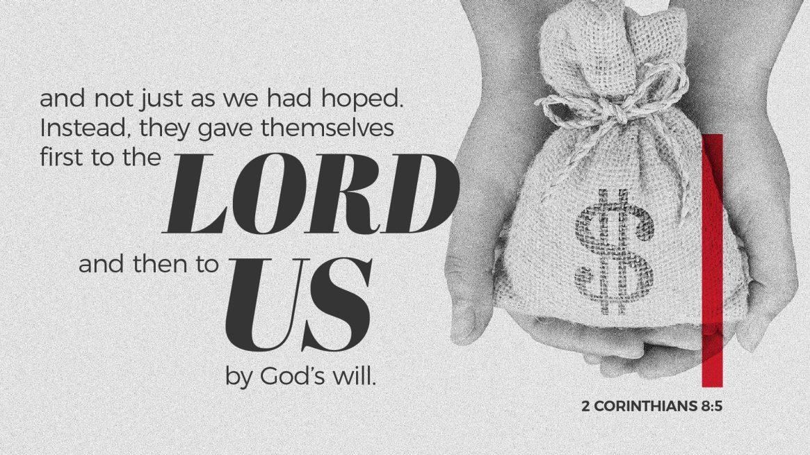 2 Corinthians 8:5