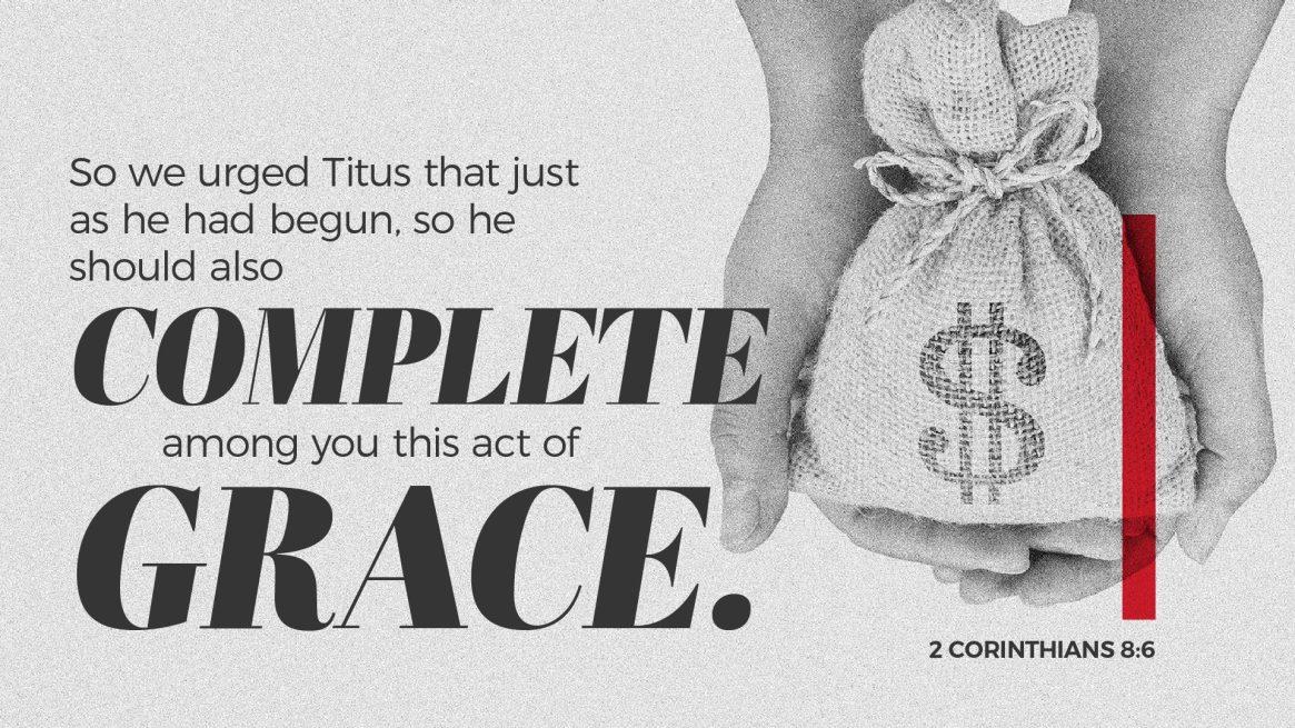 2 Corinthians 8:6