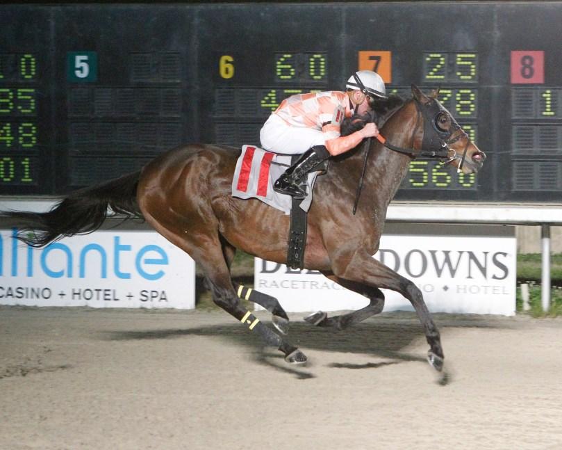 HUNKER DOWN - LA Bred Premier Night Ragin Cajun Starter Stakes - 02-09-19 - R05 - DED-01