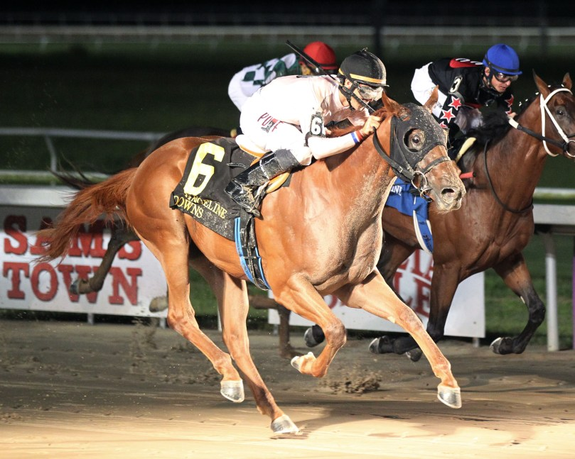 X CLOWN - The Evangeline Downs Prince Stakes - 08-24-19 - R08 - EVD - Finish 2