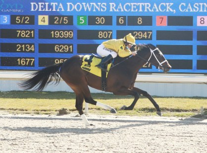 Australasia captures the 2021 Louisiana Jewel at Delta Downs