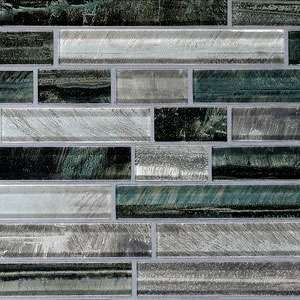 Glass Strip Mosaic