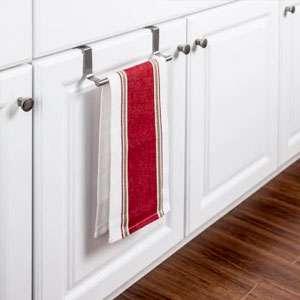 Over the door towel bar