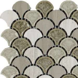 Teardrop tile pattern
