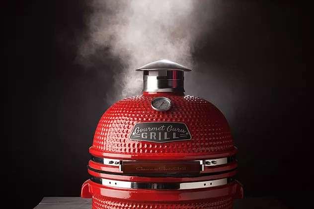 Gourmet grill blog header