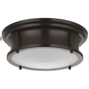 LED Flush Mount, Oil Rubbed Bronze Finish