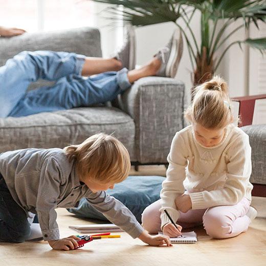 Luxury vinyl flooring thumbnail