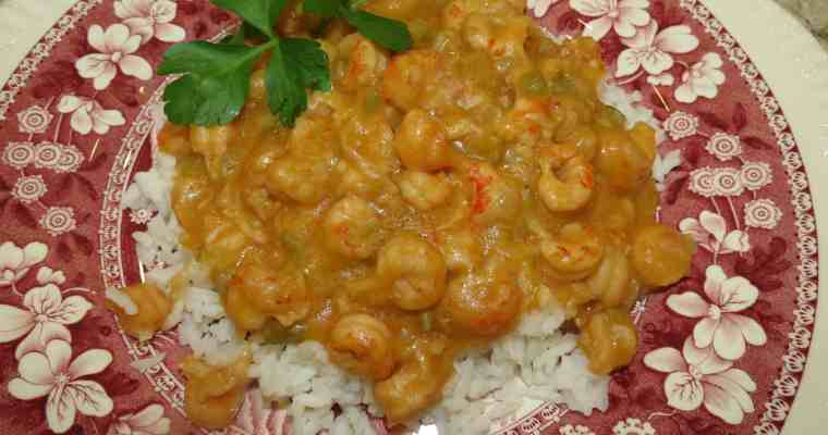 Crawfish Etouffee, To Etouffée ​​Is To Smother