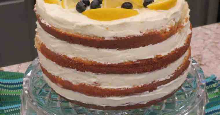 Easy Lemon Curd For A Mother's Day Queen Cake