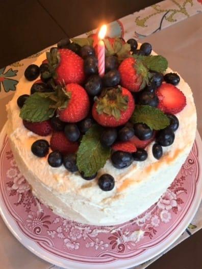 Gateau Frais  Cake