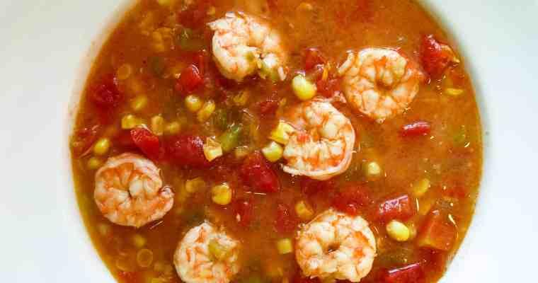 Shrimp And Corn Soup