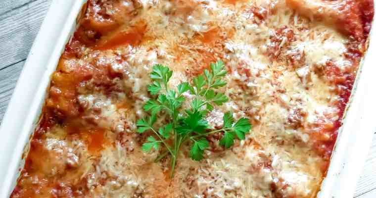 Easy Lasagna Recipe, Step-By-Step