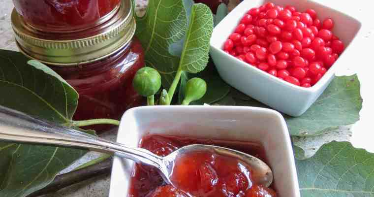 Red Hot Fig Jam