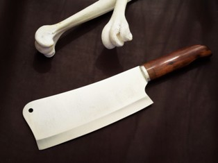 Heaby duty meat cleaver