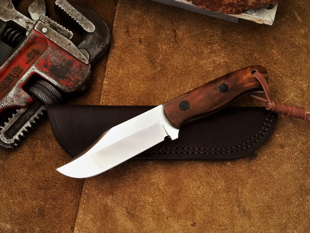 Heavy duty legal carry fixed blade knife