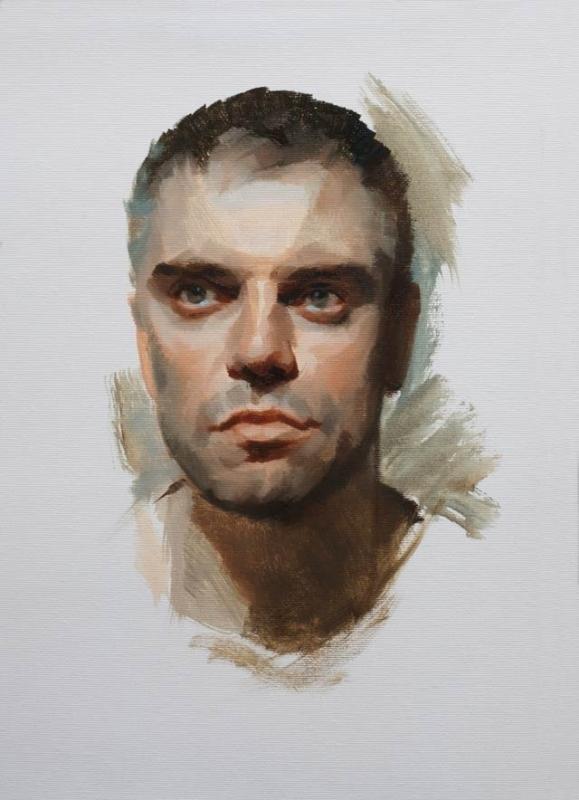 Oil Portrait Jake