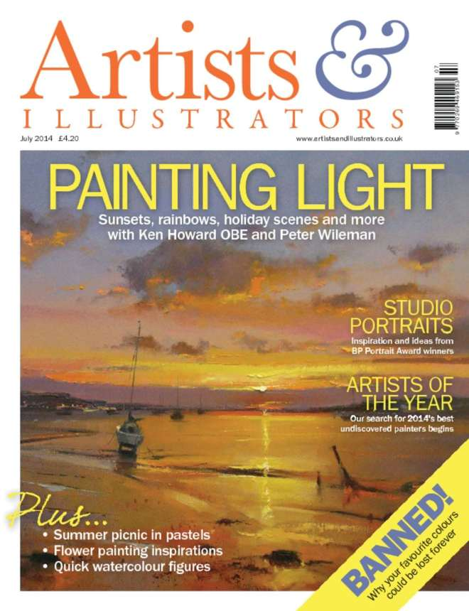 July 2014 Artist and Illustrators Large