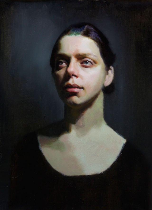 Glaze Paint Sara by Louis Smith