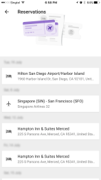 Incorrectly ordered hotel stay in Trips