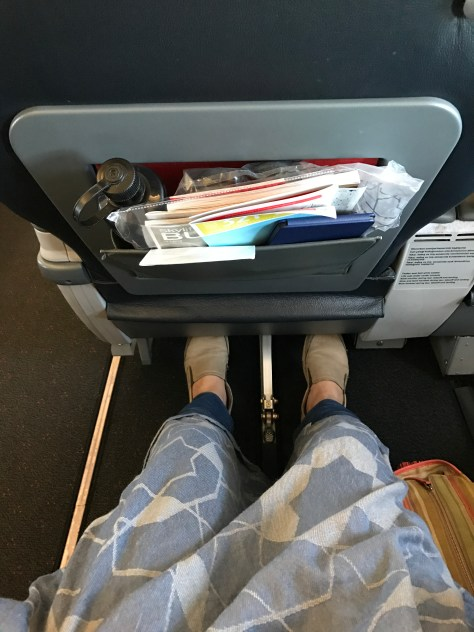 Turkish short haul business class legroom