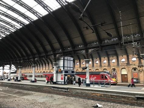 train on platform