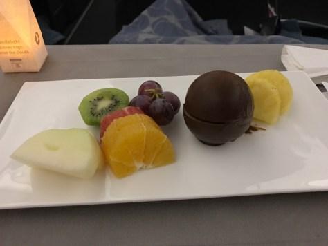Turkish dinner dessert