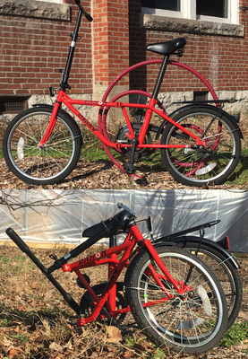 Ecolympics 2021 Grand Prize Folding Bike