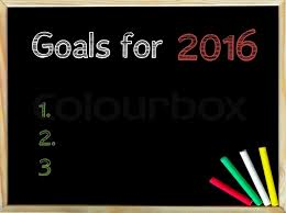 Goal setting in 2016