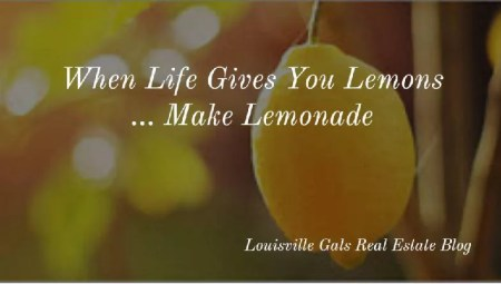 Making Lemonade Out of Lemons and Holy Crap Moments